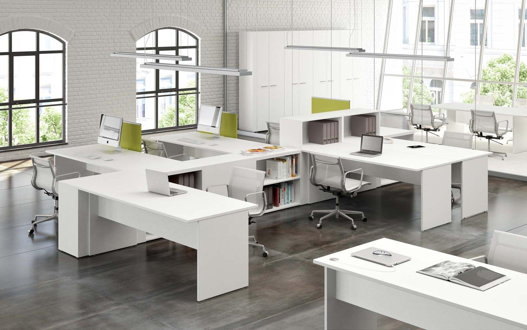 Scrivania cm 160x80x72h d 39 ambrosio srls for Mobili studio moderno